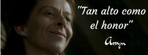 Lema de la casa Arryn