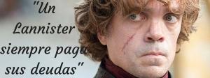 Lema de la casa Lannister