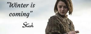 Lema de la casa Stark