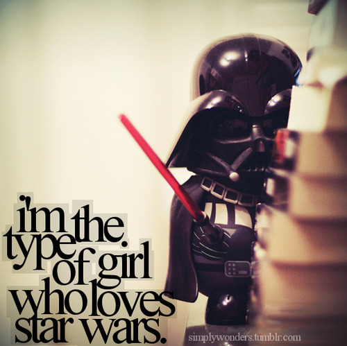 girl who loves star wars