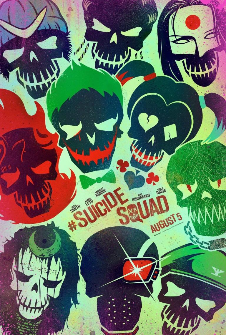 suicide squad art poster