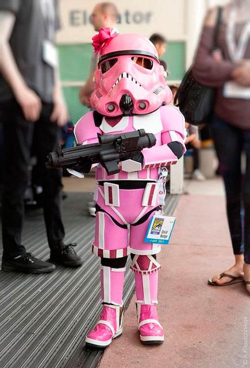 Stormtrooper rosa