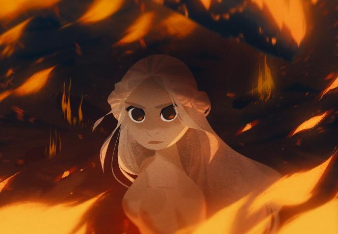 Daenerys Targaryen de Juego de Tronos por Alex Cho