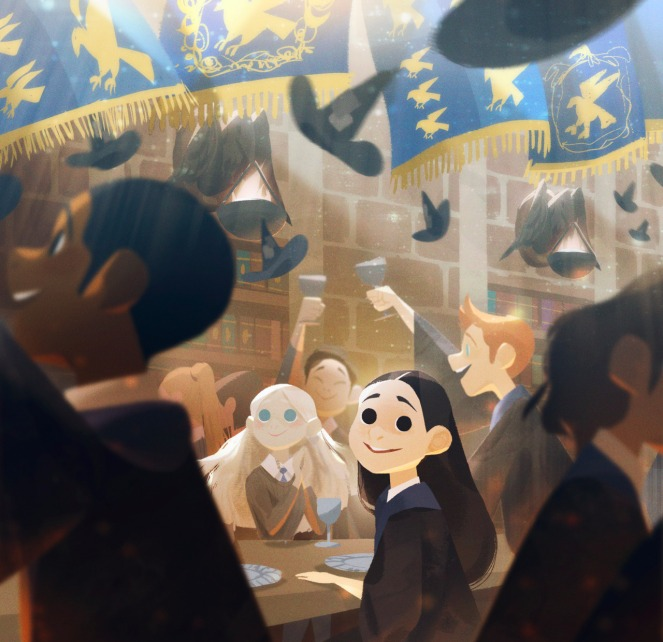 Harry Potter por Alex Cho