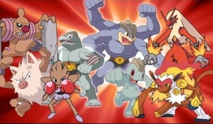 pokemon luchador
