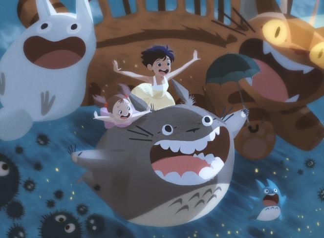Totoro por Alex Cho