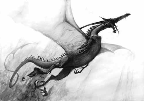 Dragón Altos Elfos Warhammer Fantasy
