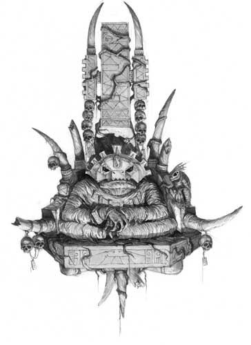 Cacique Croak Hombres Lagarto Warhammer Fantasy