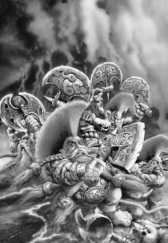 Matadores Enanos Warhammer Fantasy