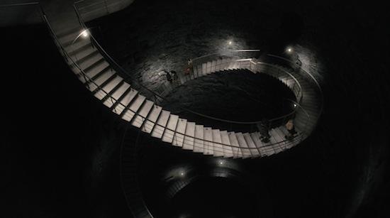 Las escaleras del Ministerio del Tiempo