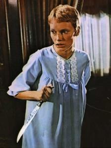 Mia Farrow en La Semilla del Diablo de Roman Polaski