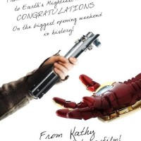 Star Wars felicita a Avengers y otros sorpasos del cine